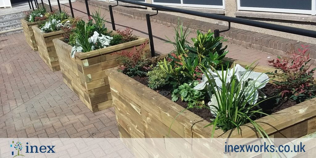 Inex Edinburgh University Planter